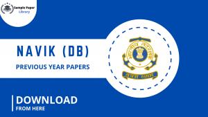Download Navik (DB) Previous year papers