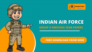 Airforce X Group Previous Year Question Papers