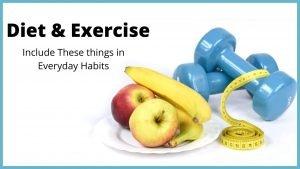 Daily habits for NDA